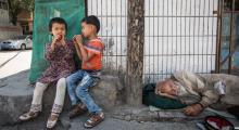Çin ve kamplarda alıkoyduğu Kazaklar