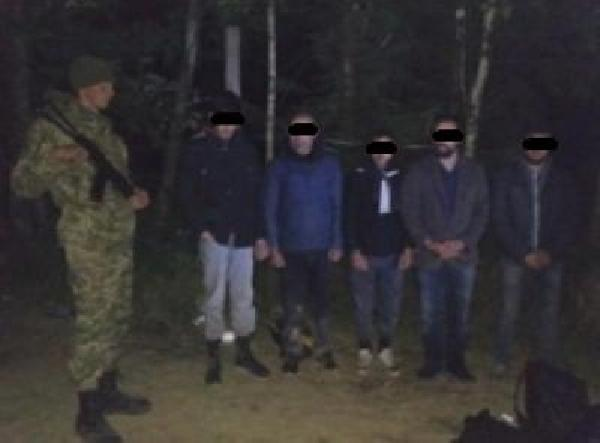 Ukrayna üzerinden AB'ye girmek isteyen Türkler ormanda kaybolup yakalandı