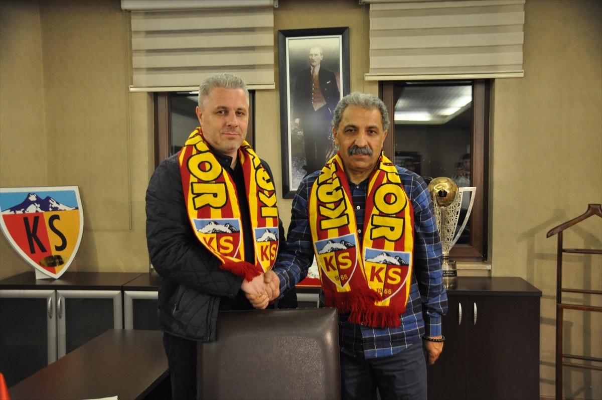Rumen teknik direktör Marius Sumudica Kayserispor'da