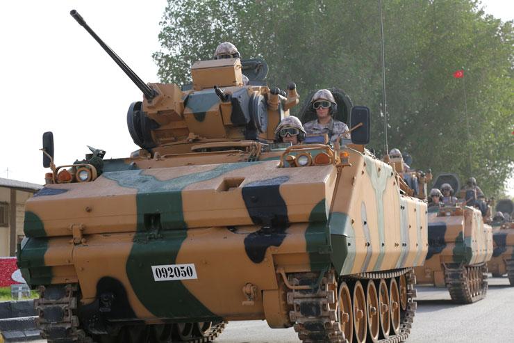 TSK: 5 zırhlı araç ve 23 personelin Doha'ya intikali tamamlanmıştır