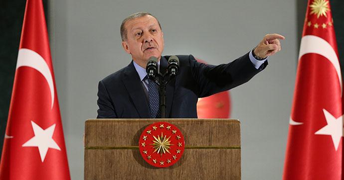 Erdoğan'dan ABD'nin koruma kararına tepki