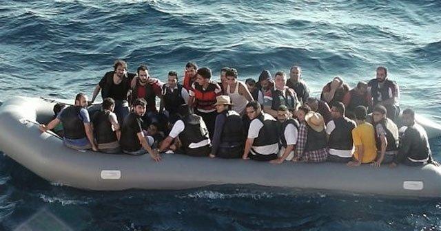 Yunan adalarına göçmen akını yine başladı