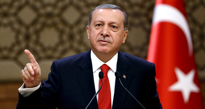 Erdoğan'dan Almanya Açıklaması