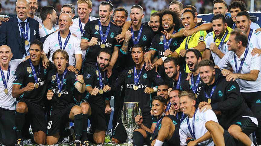 Real Madrid Kupanın Sahibi Oldu