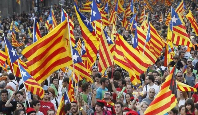Katalanlar Bağımsızlık İstiyor