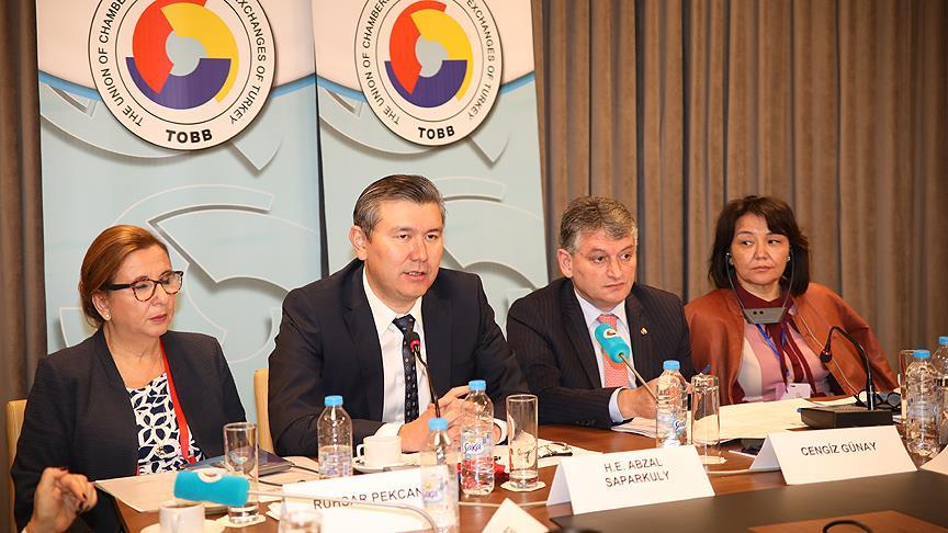 Türk ve Kazak iş kadınları güçlerini birleştirirse