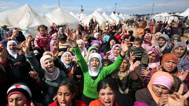 Esed'in evsiz bıraktığı Türkmenler yardım bekliyor