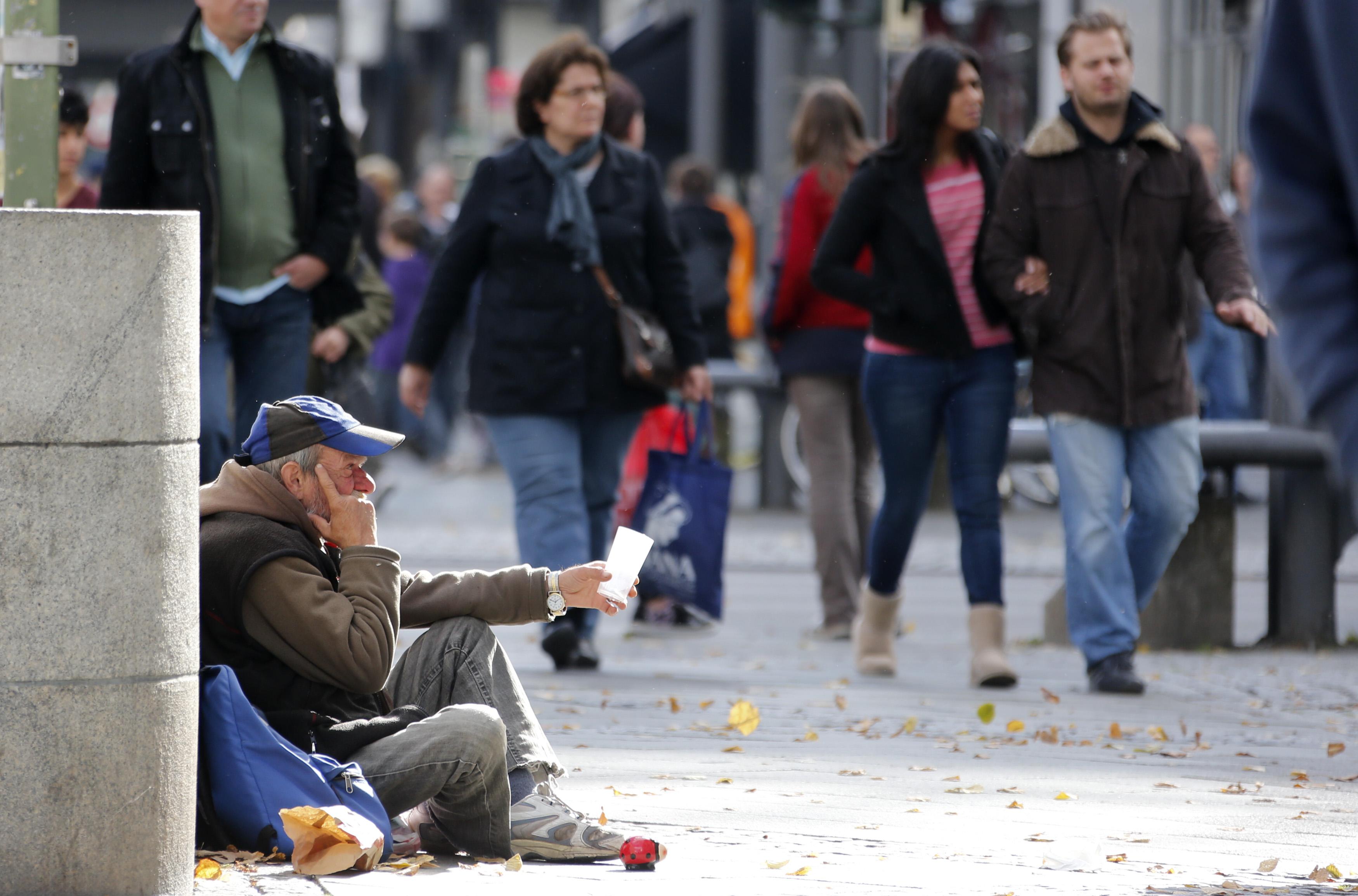 Almanya'da her 5 kişiden biri yoksulluk riskiyle karşı karşıya