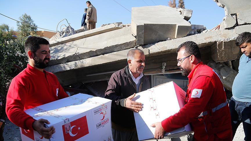 Irak Türk Kızılayına müteşekkir