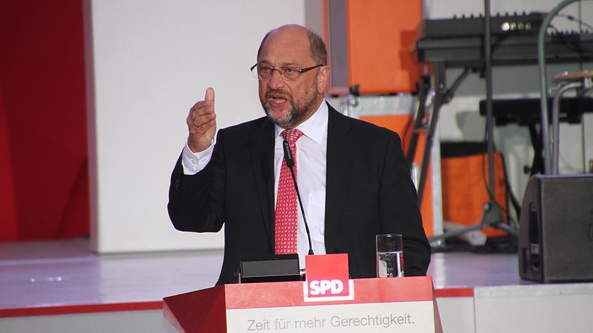SPD Genel Başkanı Schulz'tan 'koalisyon' iddialarına tepki