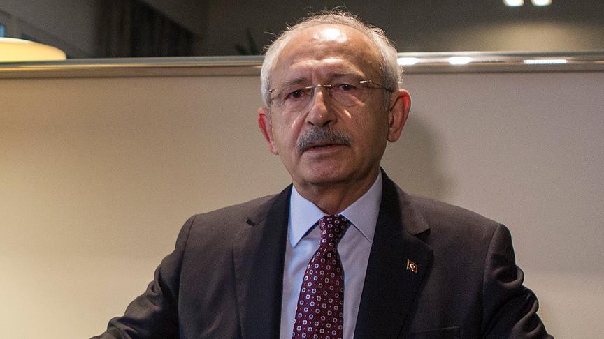 CHP Genel Başkanı Kılıçdaroğlu:'' Trump'ın açıklaması Ortadoğu'ya atılan bir bombadır''