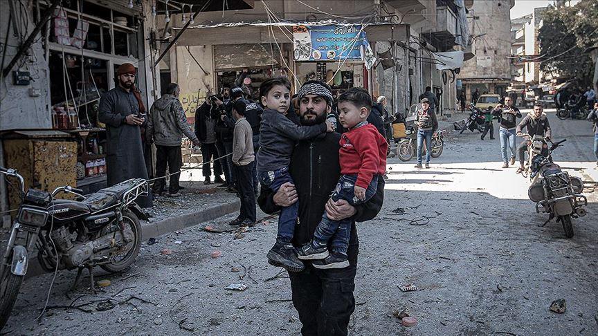 Maas: İdlib'de sivillere saldırılar suç