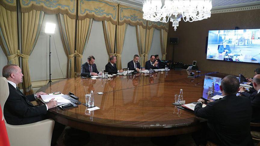 Merkel, Erdoğan, Macron ve Johnson görüşme değerlendirmesi