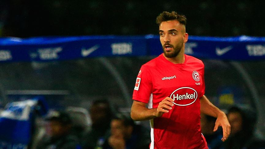 Fortuna Düsseldorf bir puanı Kenan Karaman'ın golüyle aldı