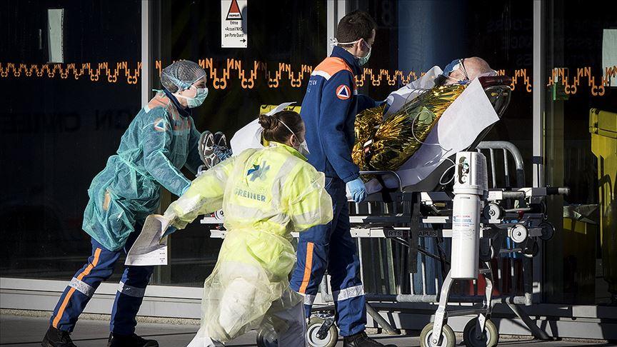 Fransa'da ölenlerin sayısı 3 bin 523