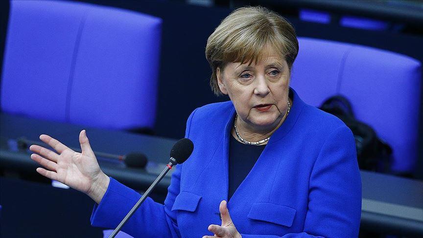 Merkel: virüsün yayılabiliyor