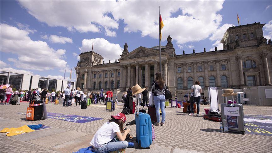 Alman seyahatleri hız kesti