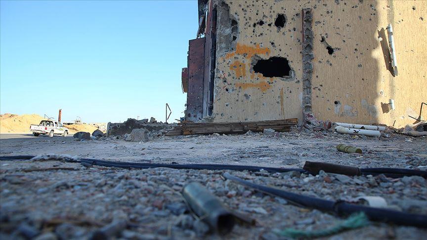 Alman diplomat Libya Bakanı görüşmesi