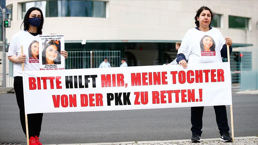 Almanya'da kızını PKK kaçırdı