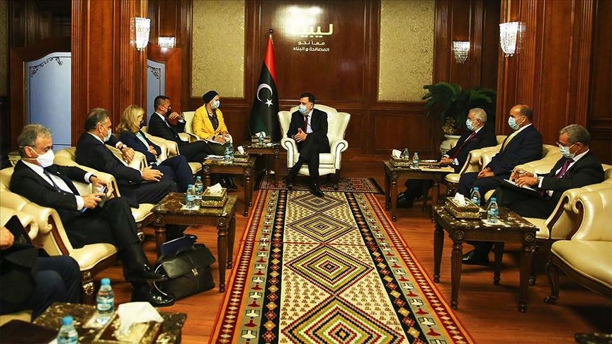Libya krizinde diplomasi
