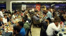 Yayıncılar iftar yemeğinde bir araya geldi