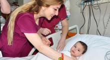 9 aylık bebeğe açık kalp ameliyatı