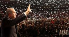 Alman basınından Cumhurbaşkanı Erdoğan için salon iddiası