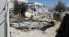 Yunanistan'ın Moria kampında sığınmacılar yine ayaklandı