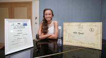 İzmirli Nehir piyanoda dünya ikincisi oldu