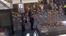 Barselona'da terör saldırısı : 13 Ölü, en az 100 Yaralı