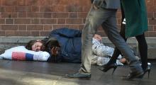 Almanya'da evsizlerin sayısı son iki yılda yüzde 150 arttı