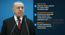 Erdoğan: Sanal dünyaya asla teslimiyeti