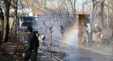 Yunanistan'ın sığınmacılara sert müdahalesi sürüyor