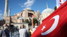 Ayasofya', dünyadan destek