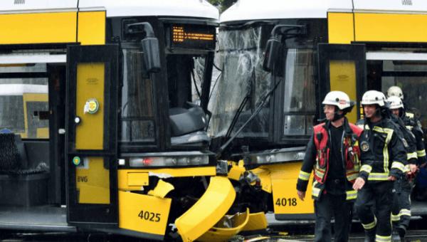 Başkentte tramvay kazası!