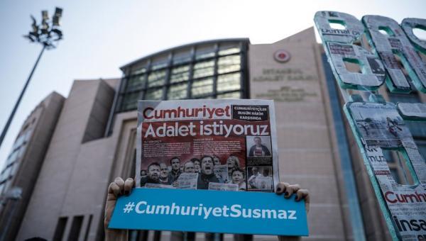 Cumhuriyet Gazetesi davası başladı