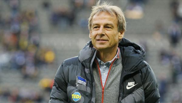 Hertha Berlin'den Klinsmann istifa etti