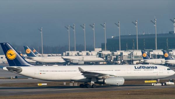 Lufthansa, Çin'e uçuşları askıya aldi
