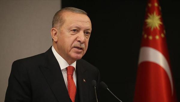 Erdoğan: Filistin'ı peşkeş çektirmeyeceğiz