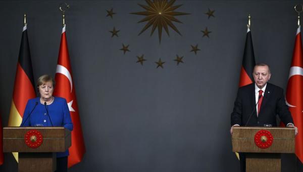 Erdoğan, Merkel telefonu