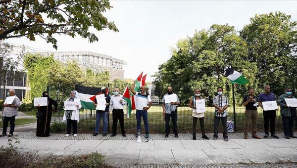 BAE-İsrail normalleşmesine protesto