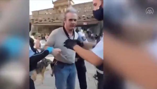 Alman polisinde şiddet