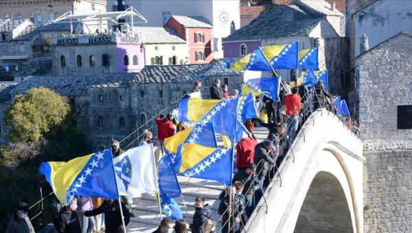 Mostar Köprüsü'nün yıkılışının 27. yılı