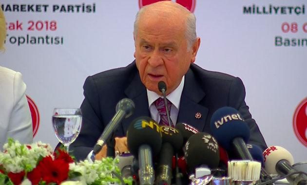 MHP cumhurbaşkanlığı adayı göstermeyecek