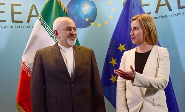 İran Dışişleri Bakanı nükleer anlaşmayı görüşmek için Brüksel'de