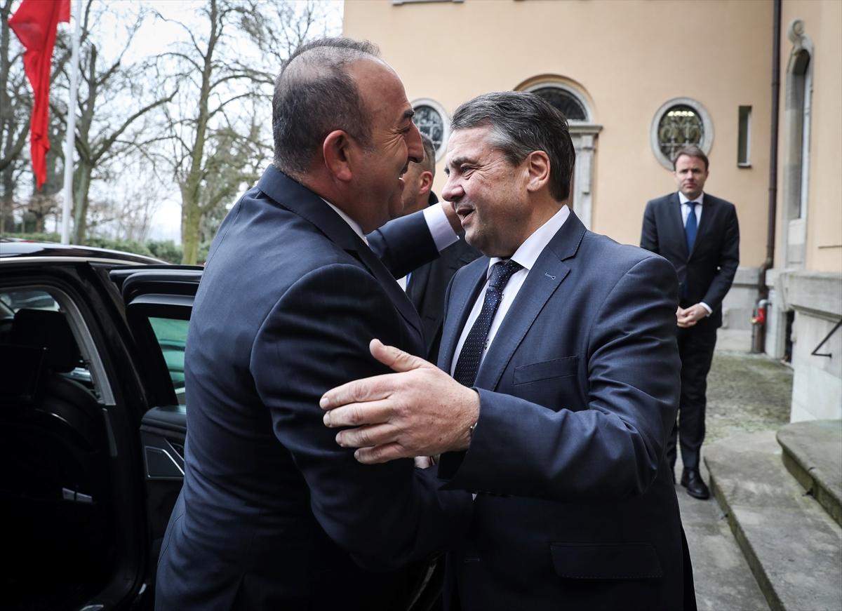 Gabriel-Çavuşoğlu ortak basın toplantısı