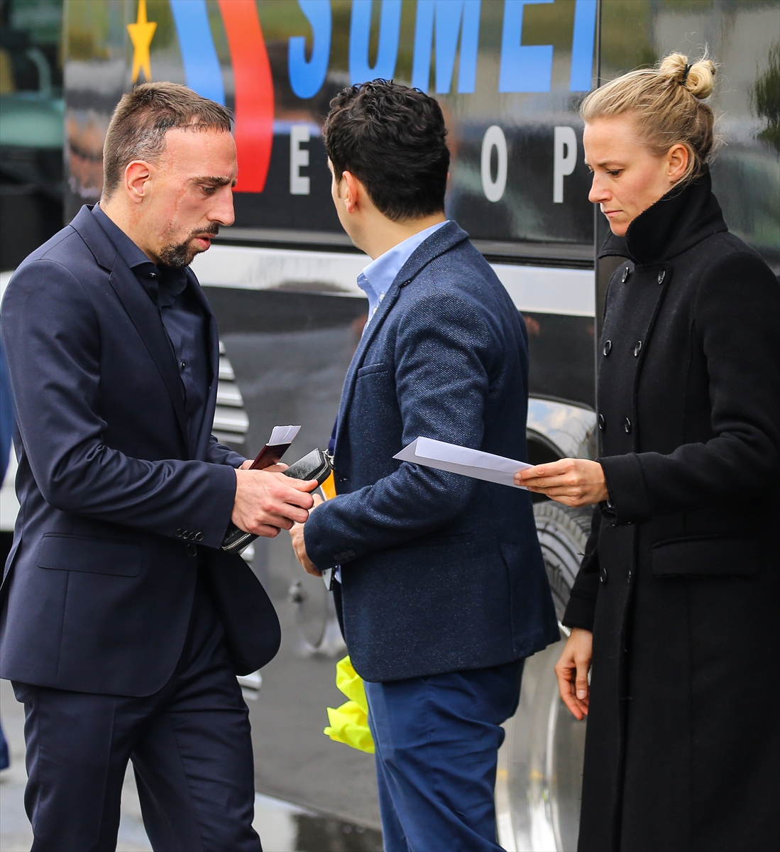 Bayern Münih İstanbul'a geldi