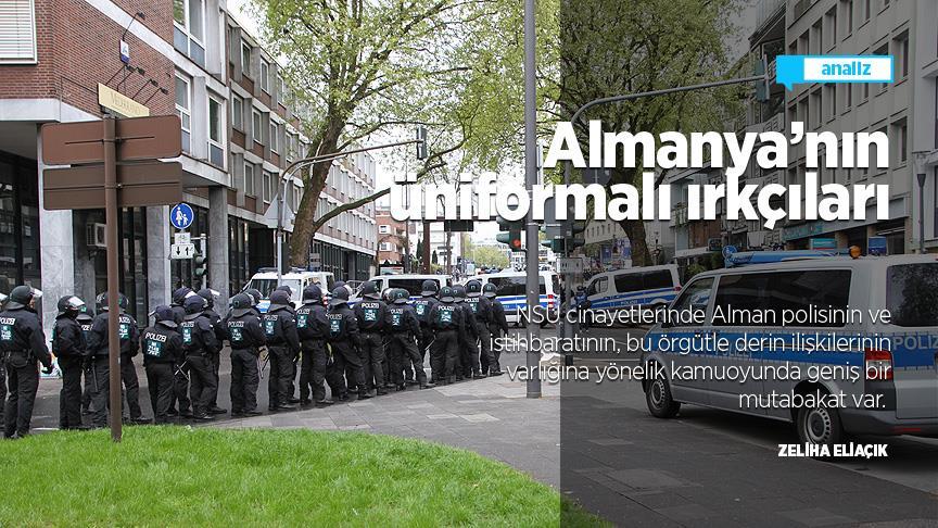 Almanya'nın üniformalı ırkçıları