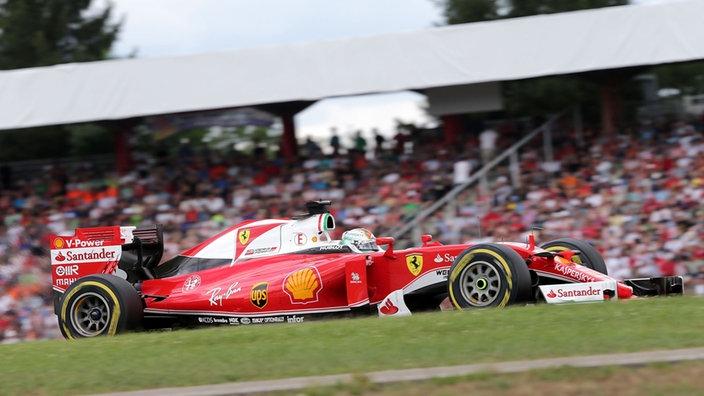 Almanya'da pole pozisyonu Vettel'in