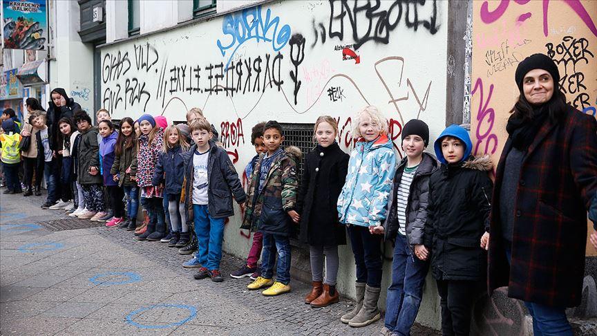 Berlin ve Irkçılığa karşı insan zinciri